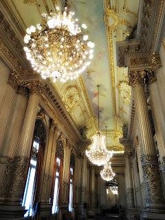 Salão dos Lustres no Teatro Colón, Buenos Aires