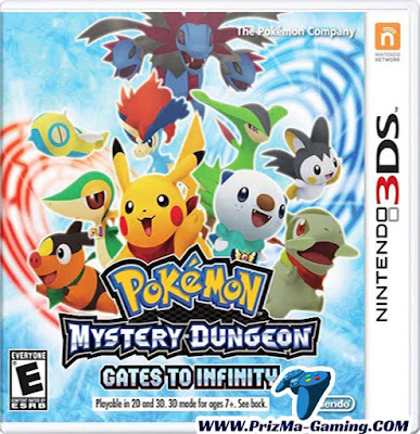 Pokémon Mystery Dungeon: Gates to Infinity [Decrypted] 3DS ROM for Citra 3DS Emulator | PrizMa Gaming