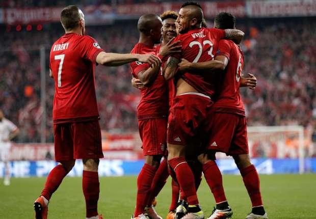 Highlight Liga Champions: Benfica 2-2 Bayern Munchen