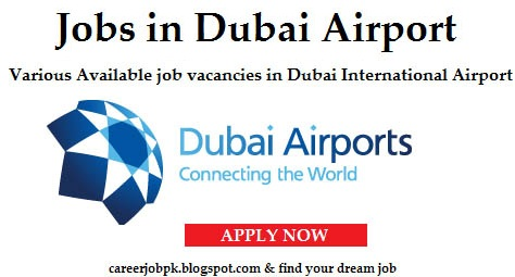 Job vacancy in Dubai Airport 2016