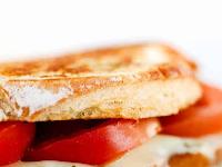 Grilled caprese Mozzarella Sandwich