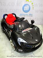 Mobil Mainan Aki Pliko PK9188 MacLaren Black