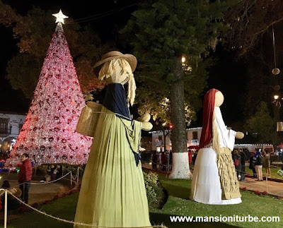 Artisan Nativity in Patzcuaro at the Vasco de Quiroga Square