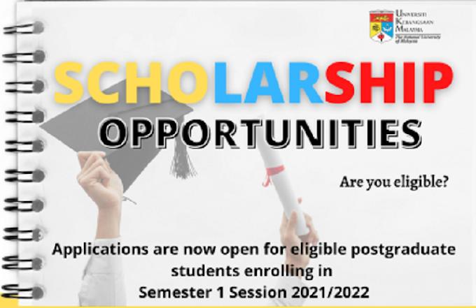 Стипендии PhD в Universiti Kebangsaan Malaysia (UKM)