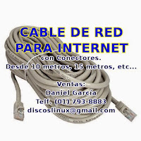 Cable de Red para Internet, Lan Speedy Movistar Claro, Dixon UTP Cat5e, PS3 PS4, Los Olivos, Lima, Cono Norte