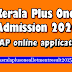 Kerala Plus One Admission 2020 - HSCAP online application started on July 29th