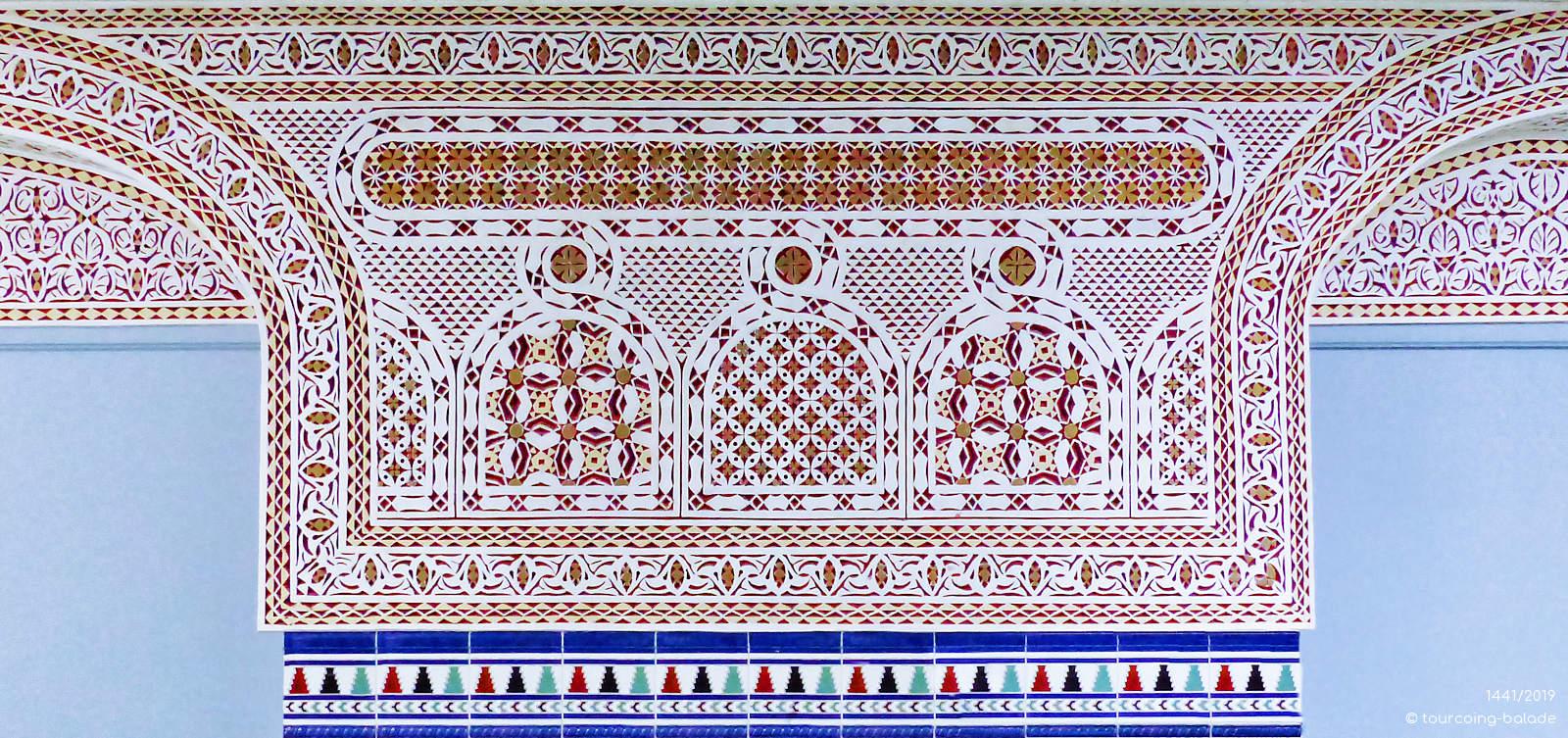 Masjid es-Salam Tourcoing - Motifs décoratifs