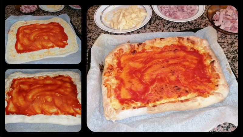 como hacer masa de pizza panificadora lidl