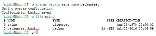 Backup Dan Restore Secara CLI Di Mikrotik - Cinta Networking