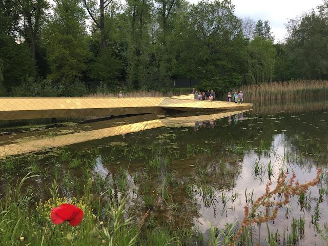 14 Hektar Naturfläche wurden hier mit Schaugärten und Beeten hergerichtet.