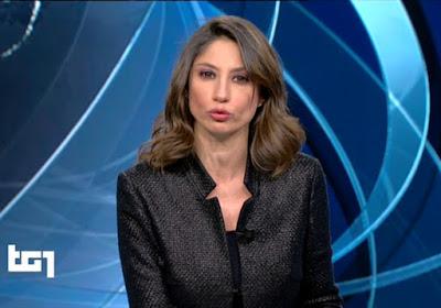 Maria Soave Tg1 oggi 8 dicembre