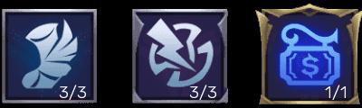 Emblem Guinevere Tersakit dan Terkuat