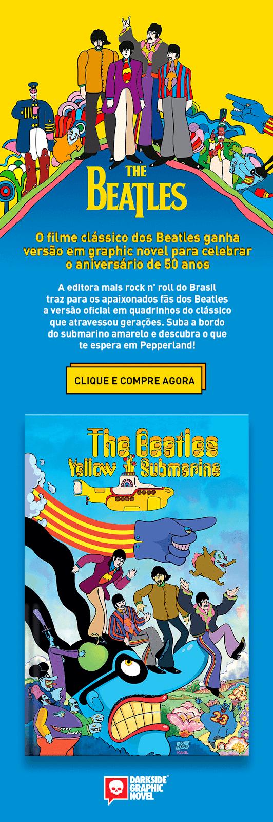 Embarque com a DarkSide e os Beatles rumo à Pepperland 💀