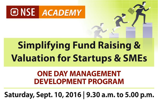 Workshop on SIMPLIFYING FUNDS RAISING, VALUATION & WEALTH CREATION FOR STARTUPS & INVESTORS.--STARTUP IDEA TO IPO