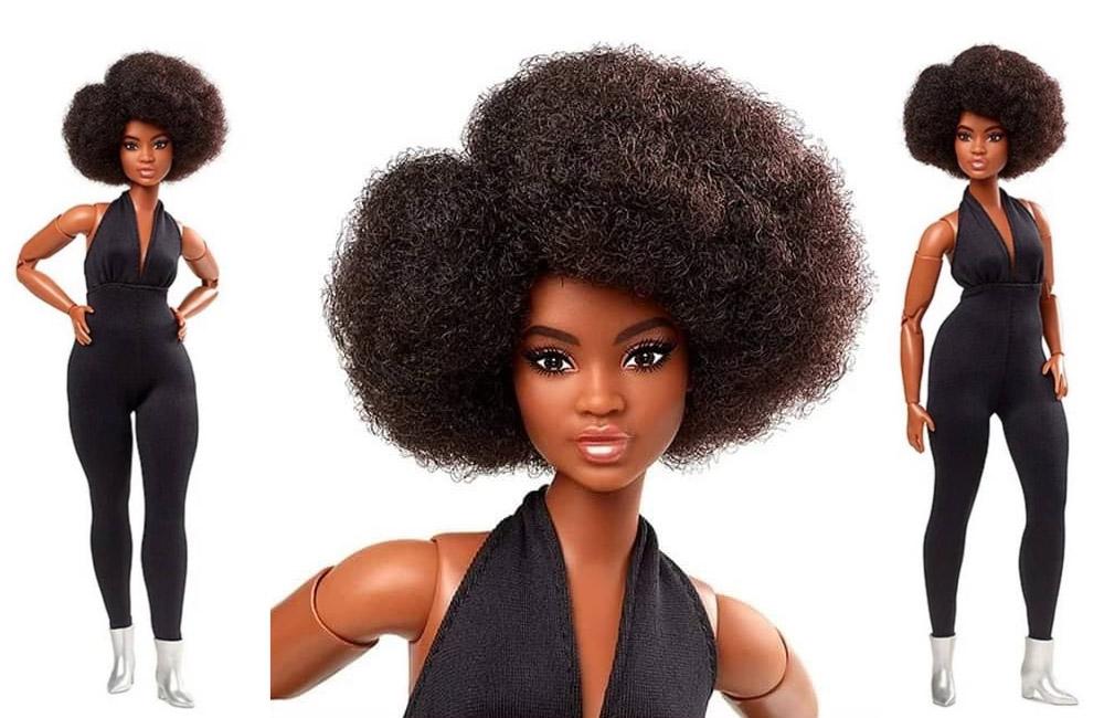 Барби африканка Barbie Looks коллекция 2021 года