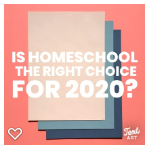 Does homeschool make sense for 2020?