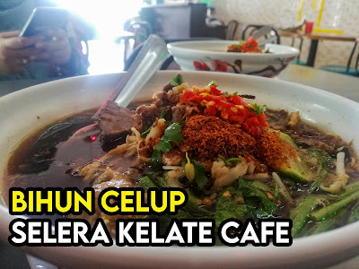 Bihun Celup Selera Kelate Cafe Shah Alam