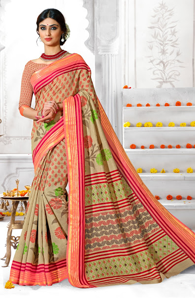 Kanchi Silk 2 – Art Silk Stylish And Printed Saree Buy Online