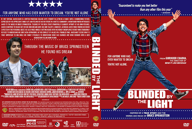 Blinded By The Light DVD Cover