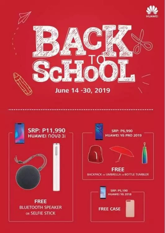 Huawei Launches Back-to-School Promo