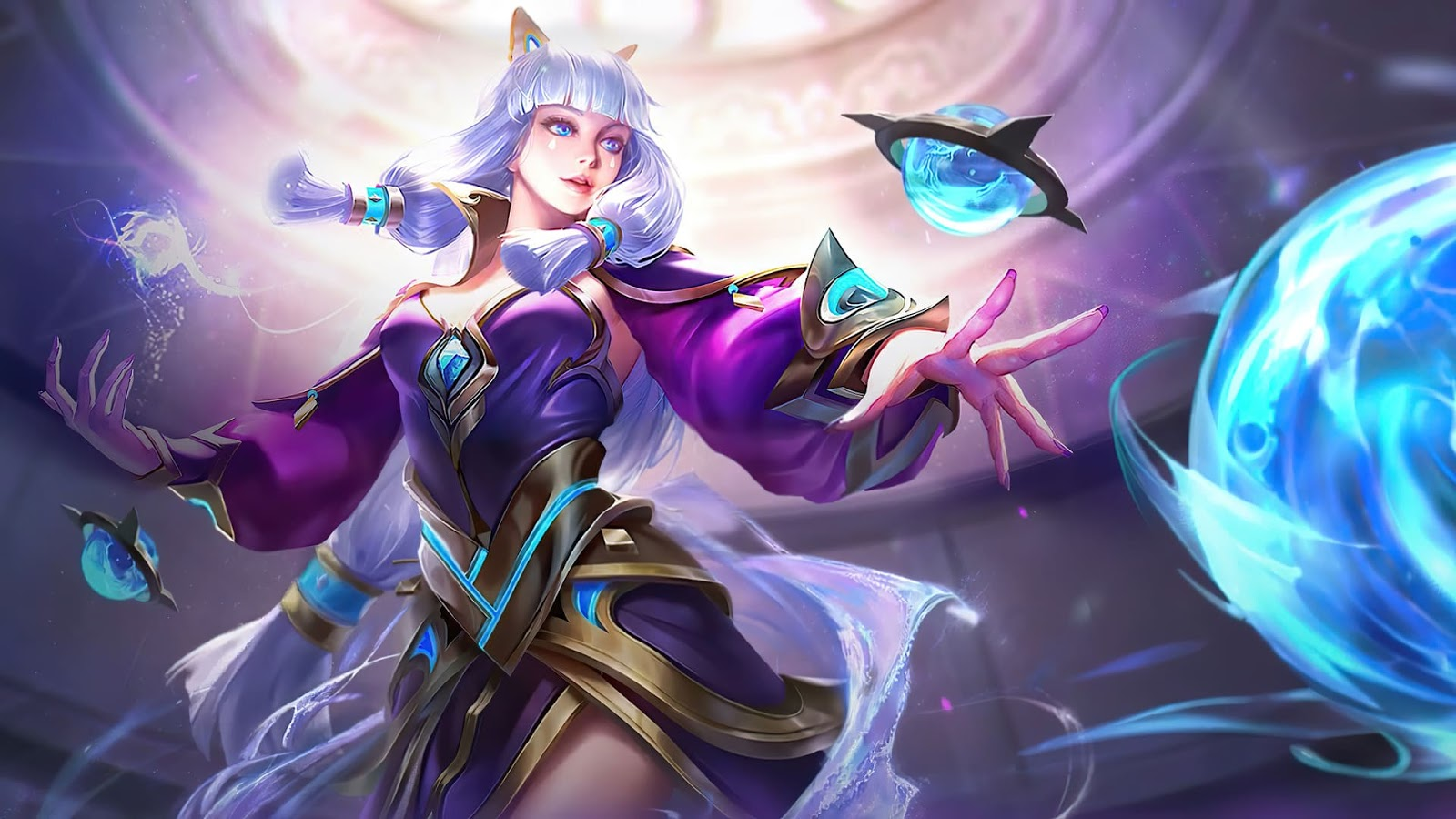 Wallpaper Guinevere Amethyst Dance Skin Mobile Legends HD for PC