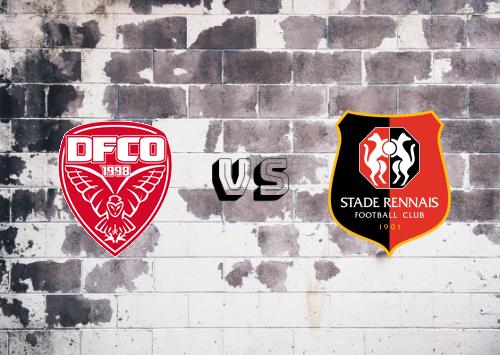 Dijon FCO vs Rennes  Resumen