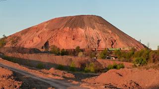 Породные отвалы шахты № 5-6