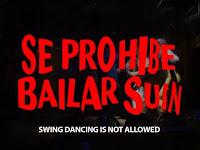 se prohibe bailar swing