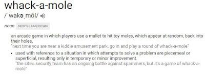 Whack a Mole definition