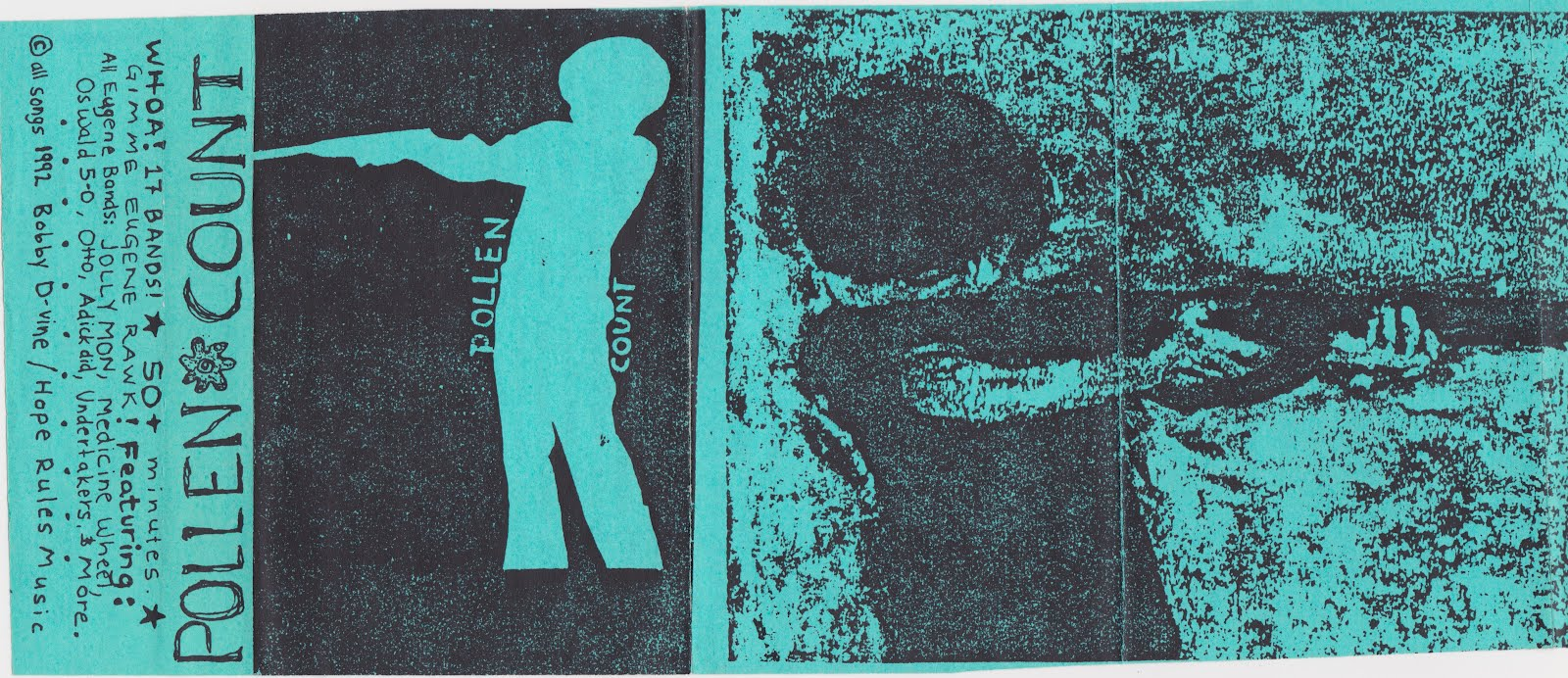 Panic on 13th: Pollen Count - (Cassette Only Compilation