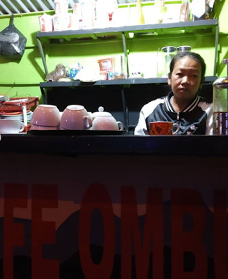 Ada Yang Baru nih di Siborong-borong, 'Ombus-ombus Coffee Shop'