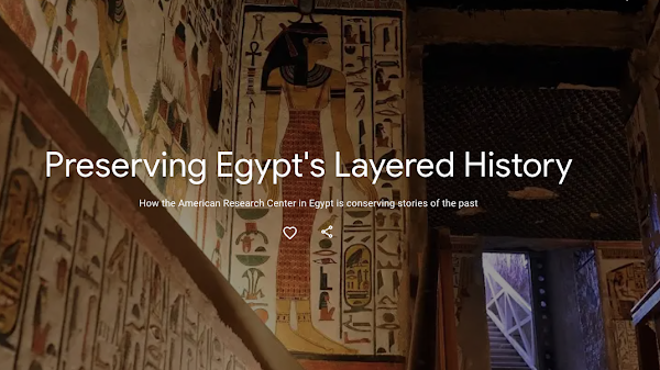 "Google Arts & Culture apresenta projecto ""Preservando a história do Egipto"""
