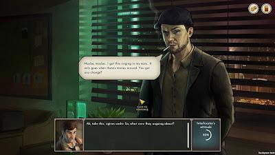 Coffee Noir Business Detective Game Screenshot 11