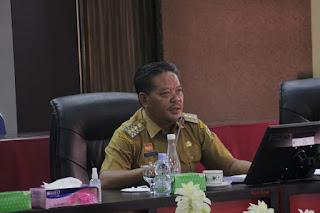 Bupati Paolus Hadi Pimpin Kegiatan Paparan SPBE dan Satu Data Kabupaten Sanggau