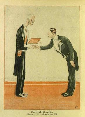 Caricature Hitler 1931
