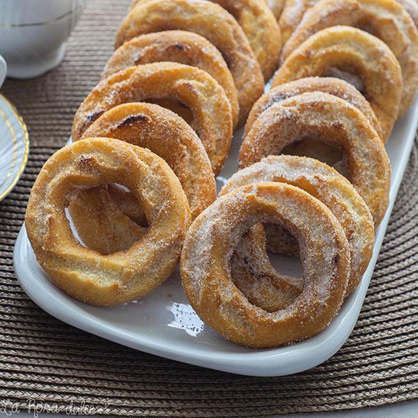 Roscos fritos #sinleche #sinlactosa