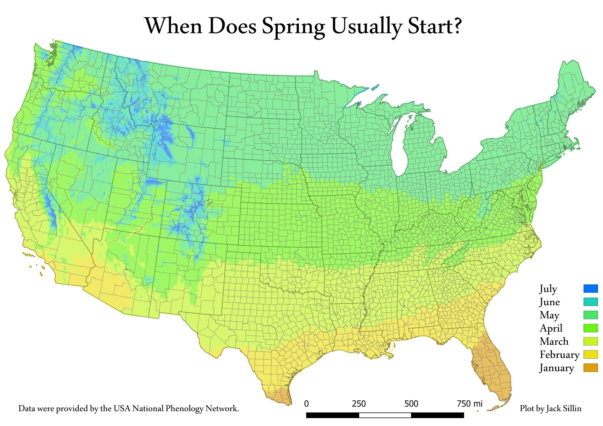 Spring in the United States