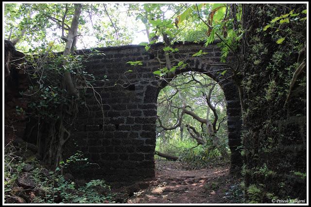 Yashwantgad fort