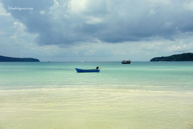Koh Rong Samloem Saracen Bay Cambodia Beach
