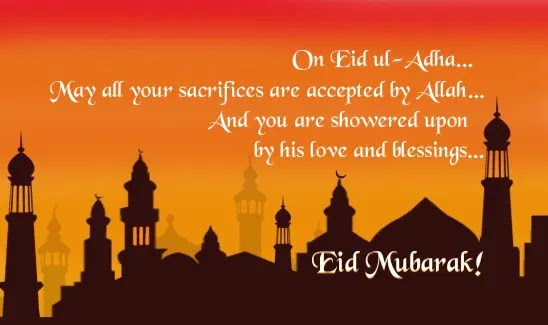 Eid al Adha Messages 2021