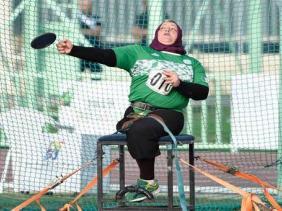 الجزائرية مونية قاسمي تحرز الميدالية البرونزية