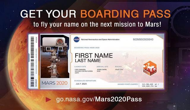 Ingin Nama Kamu Terbang ke Mars? NASA Buka Pendaftaran Sampai September 2019
