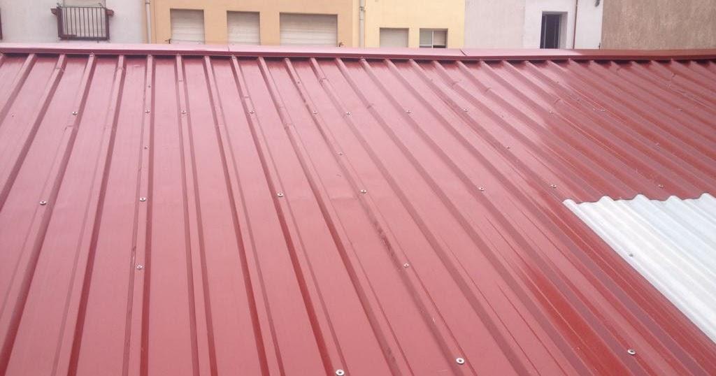 Tejados de chapa galvanizada montadores de techos for Tejados de chapa