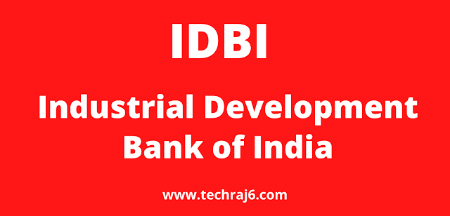 IDBI full form, What is the full form of IDBI