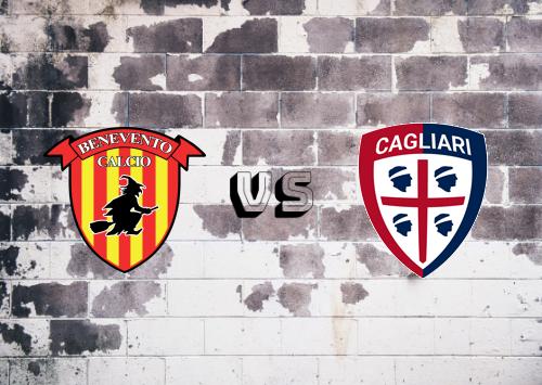 Benevento vs Cagliari  Resumen