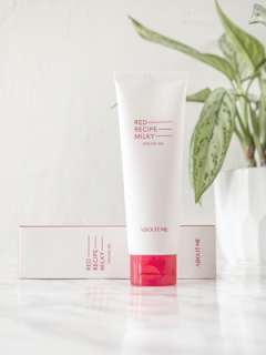 about me skincare peeling gel review