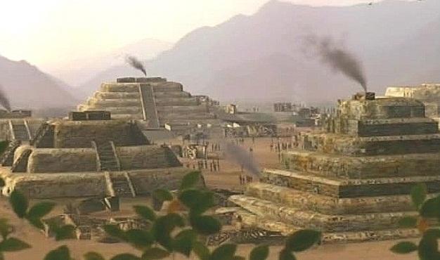 LA CULTURA CARAL DE PERÚ, mla más antigua del continente