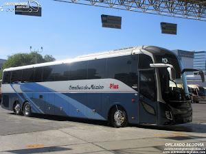 Volvo 9800 Omnibus de Mexico Plus