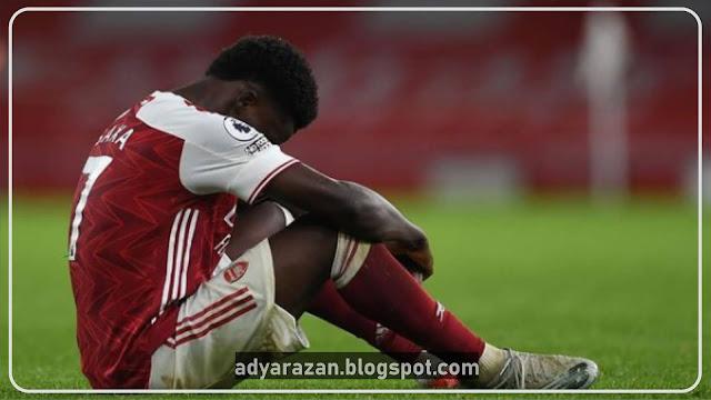Bukayo Saka, Gelandang Arsenal