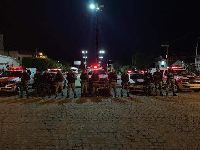 Polícia Militar  intensifica abordagens e realiza operação Cidade segura na região.